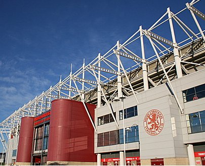 The Riverside Stadium - Middlesbrough