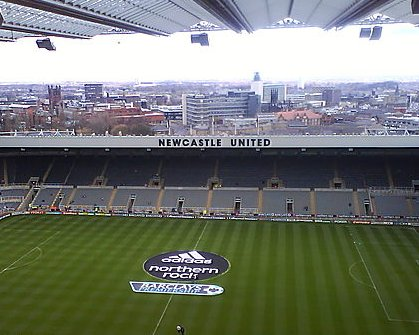 St James Park - Newcastlel