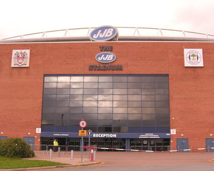 The JJB Stadium - Wigan Athletic