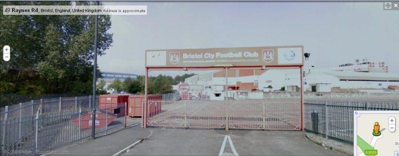 Ashton Gate - Google Maps Street View
