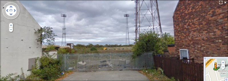 Boothferry Park - Google Maps Street View
