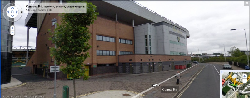 Carrow Road - Google Maps Street View