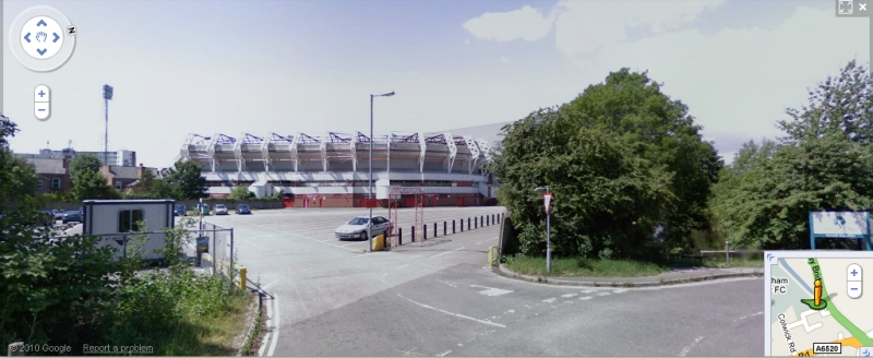 The City Ground - Google Maps Street View