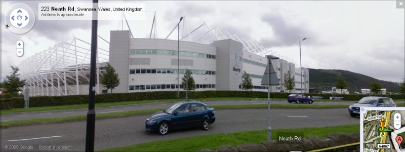Liberty Stadium - Google Maps Street View