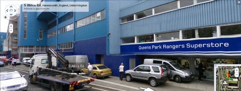 Loftus Road - Google Maps Street View