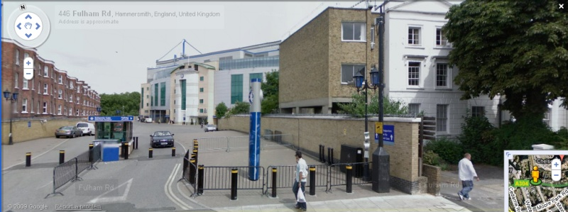Stamford Bridge - Google Maps Street View