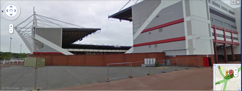 The Britannia Stadium - Google Maps Street View
