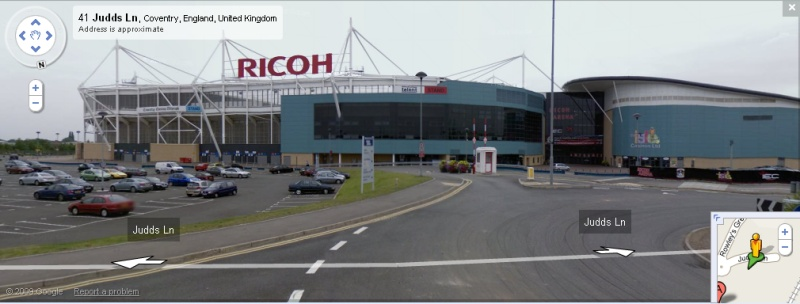 The Ricoh Arena - Google Maps Street View