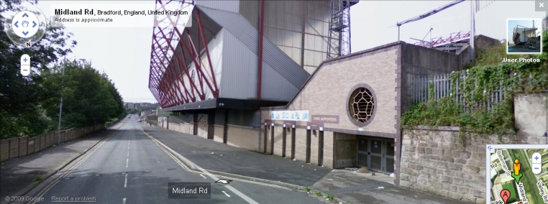 Valley Parade - Google Maps Street View