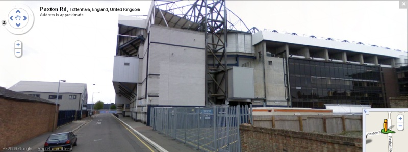 White Hart Lane - Google Maps Street View
